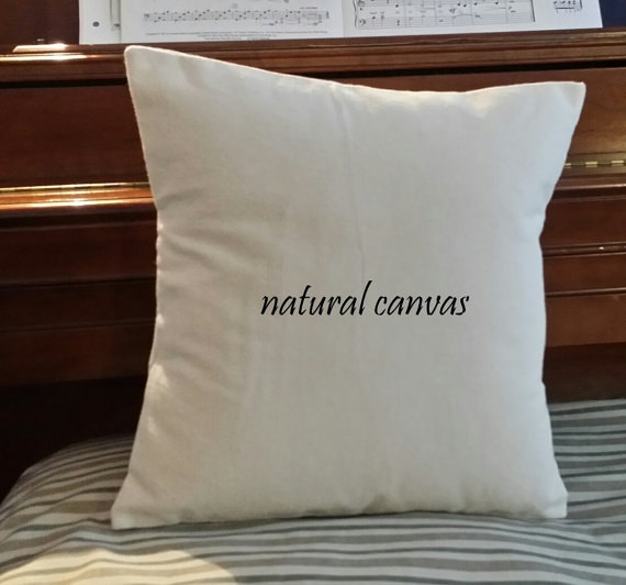 Diy Canvas Pillow Case: Hand made Custom Size Available  14